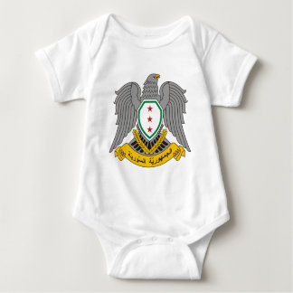Coat_of_arms_of_Syria-1957 Baby Bodysuit