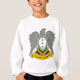 Coat_of_arms_of_Syria-1957 Sweatshirt