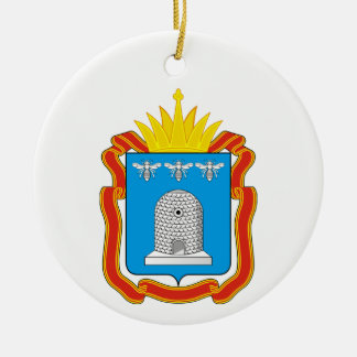 Coat of arms of Tambov oblast Ceramic Ornament