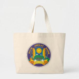 Coat_of_Arms_of_Tashkent Large Tote Bag