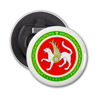 Coat of arms of Tatarstan Bottle Opener
