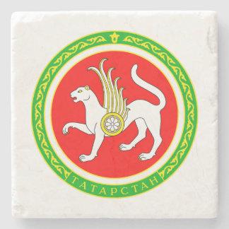 Coat of arms of Tatarstan Stone Coaster