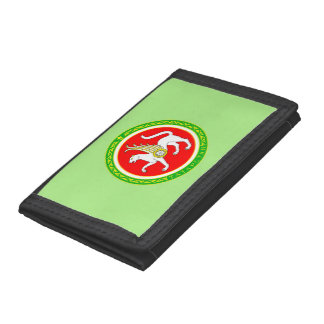 Coat of arms of Tatarstan Trifold Wallets