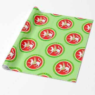Coat of arms of Tatarstan Wrapping Paper