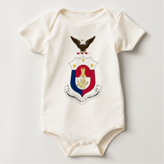 Coat_of_arms_of_the_Commonwealth_of_the_Philippine Baby Bodysuit