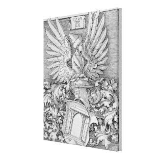Coat of Arms of the Durer Family Canvas Print