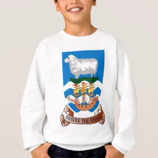 Coat_of_arms_of_the_Falkland_Islands Sweatshirt