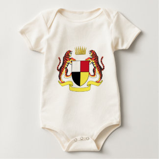 Coat_of_arms_of_the_Federated_Malay_States Baby Bodysuit
