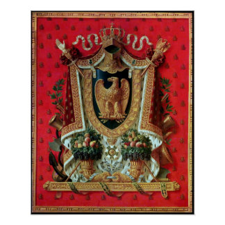 Coat of Arms of the French Empire Poster