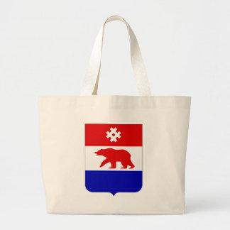 Coat_of_arms_of_the_Komi-Permyak_Okrug Large Tote Bag
