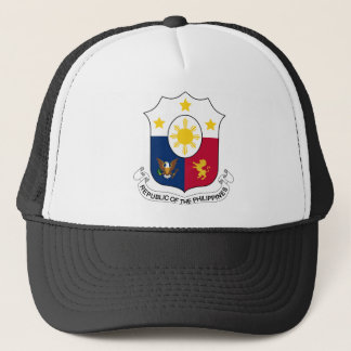 Coat_of_arms_of_the_Philippines_(1946–1978) Trucker Hat