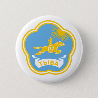 Coat of arms of Tuva 2 Inch Round Button