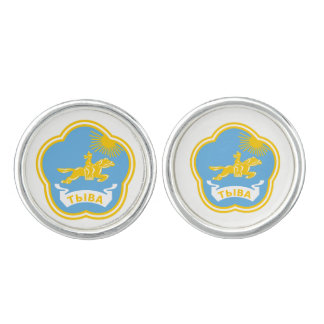 Coat of arms of Tuva Cuff Links