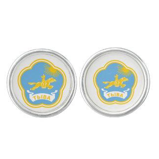 Coat of arms of Tuva Cufflinks