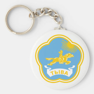 Coat of arms of Tuva Keychain