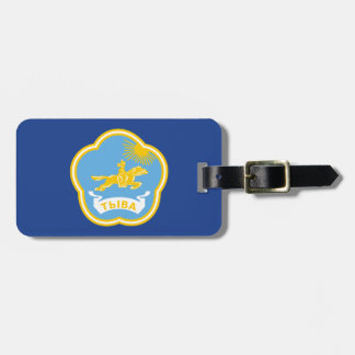 Coat of arms of Tuva Luggage Tag