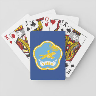 Coat of arms of Tuva Playing Cards