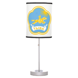 Coat of arms of Tuva Table Lamp