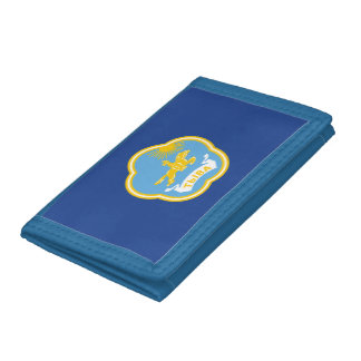 Coat of arms of Tuva Tri-fold Wallets
