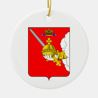 Coat of arms of Vologda oblast Ceramic Ornament