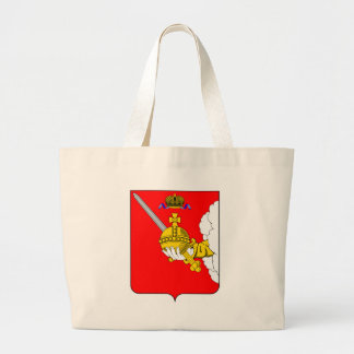 Coat_of_arms_of_Vologda_oblast Large Tote Bag
