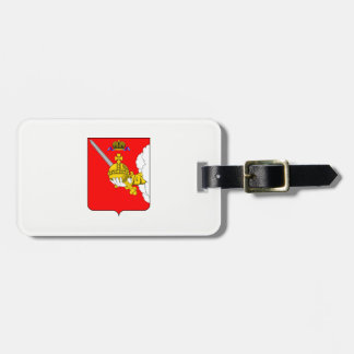 Coat of arms of Vologda oblast Luggage Tag