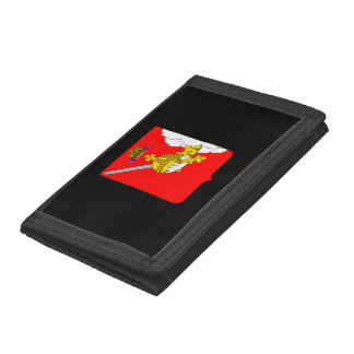 Coat of arms of Vologda oblast Trifold Wallet