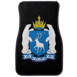 Coat of arms of  Yamal-Nenetsia Car Mat