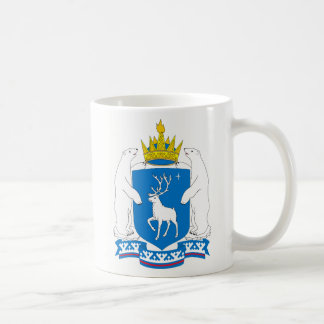 Coat of arms of  Yamal-Nenetsia Coffee Mug