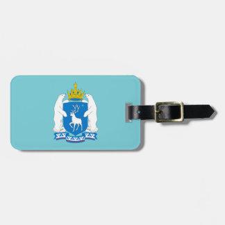 Coat of arms of  Yamal-Nenetsia Luggage Tag