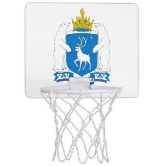 Coat of arms of  Yamal-Nenetsia Mini Basketball Hoop