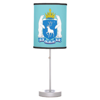 Coat of arms of  Yamal-Nenetsia Table Lamp