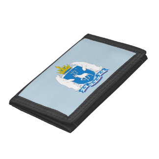Coat of arms of  Yamal-Nenetsia Tri-fold Wallet