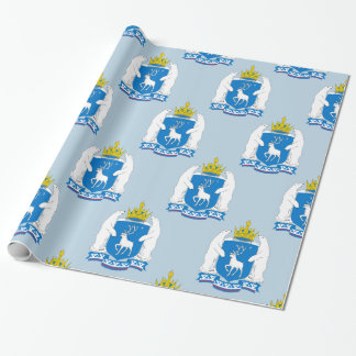 Coat of arms of  Yamal-Nenetsia Wrapping Paper