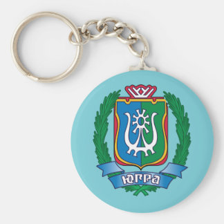 Coat of arms of  Yugra Keychain