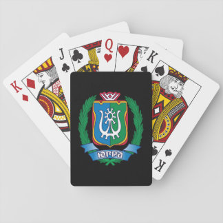 Coat of arms of  Yugra Playing Cards