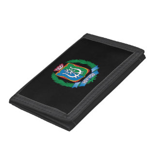 Coat of arms of  Yugra Trifold Wallets