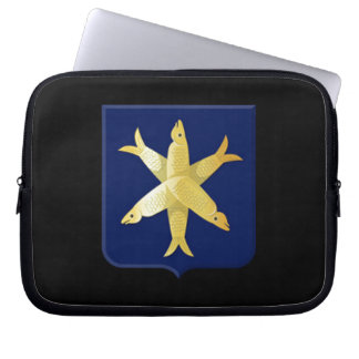 Coat of arms of Zandvoort Laptop Sleeve