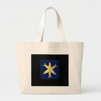 Coat of arms of Zandvoort Large Tote Bag
