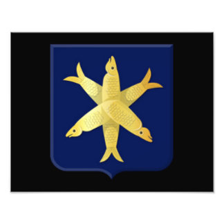 Coat of arms of Zandvoort Photo Print