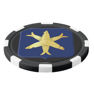 Coat of arms of Zandvoort Poker Chips