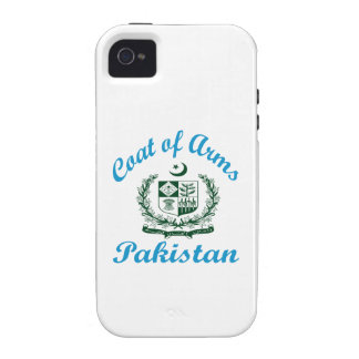 Coat Of Arms Pakistan Case-Mate iPhone 4 Covers