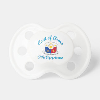 Coat Of Arms Philippines Baby Pacifiers