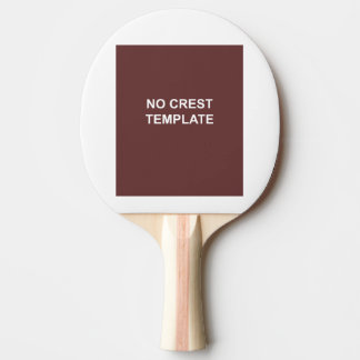 Coat of Arms Ping Pong Paddle