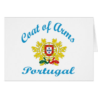 Coat Of Arms Portugal Card