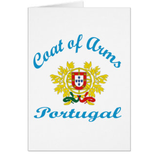 Coat Of Arms Portugal Greeting Cards