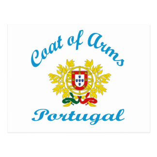 Coat Of Arms Portugal Postcards