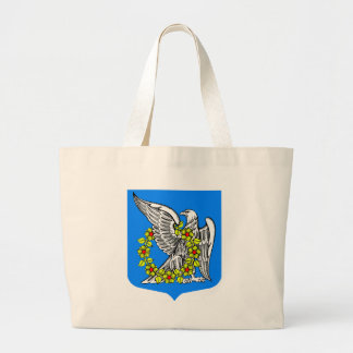 Coat_of_arms_Rahja(Leningrad_oblast) Large Tote Bag