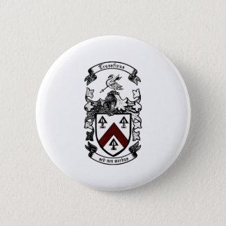 Coat of arms - Transfixus sed non morbus (redchev) 2 Inch Round Button