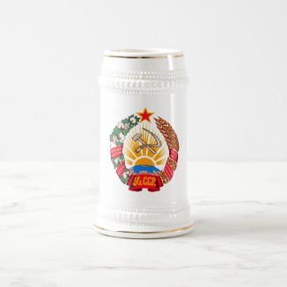 Coat of arms Uzbekistan Official Heraldry Symbol Beer Stein